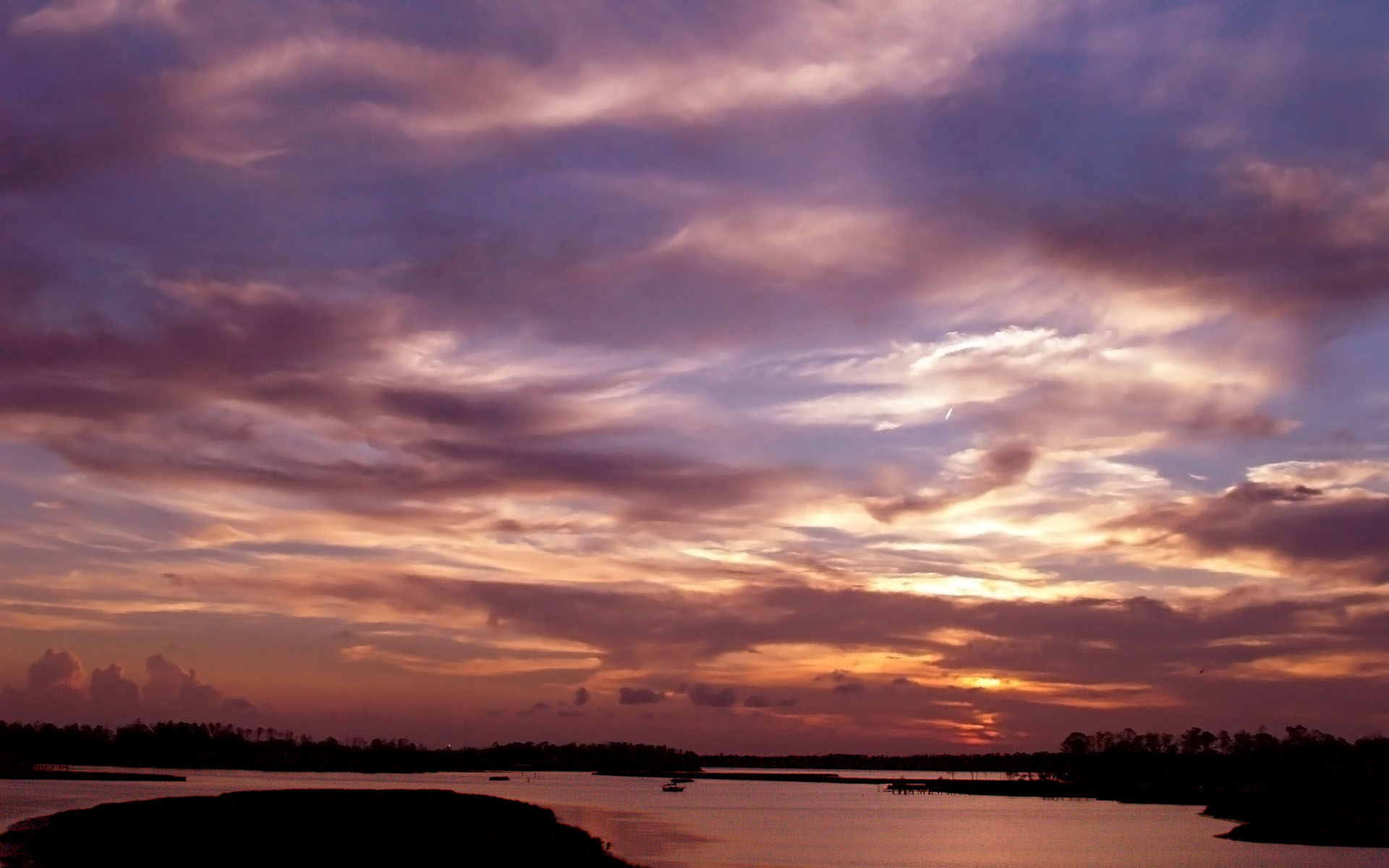 Wall 風景桌布下載 日落 183 夕陽